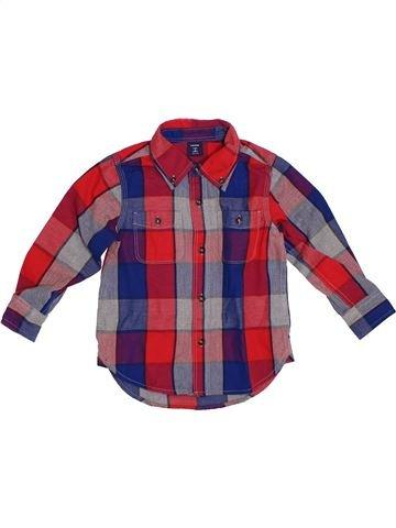 Camisa de manga larga niño GAP violeta 3 años invierno #1308609_1