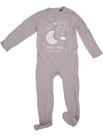 Pijama de 1 pieza niña KIABI gris 3 años verano #1308668_1