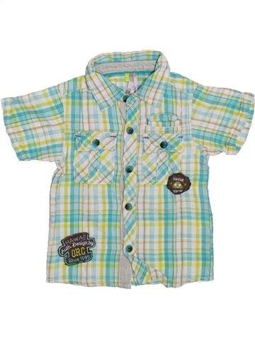 Camisa de manga corta niño ORCHESTRA gris 2 años verano #1308688_1