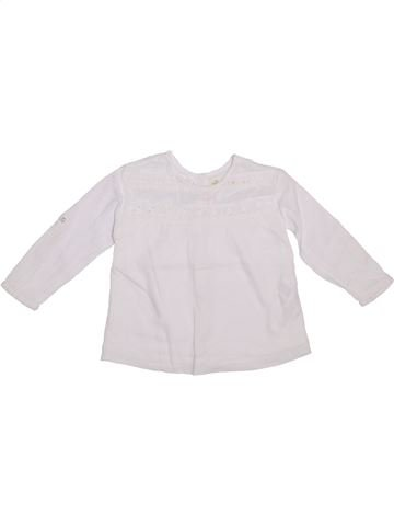 Blusa de manga larga niña ZARA blanco 3 años invierno #1308770_1