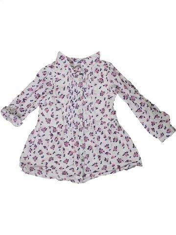 Blusa de manga larga niña PRIMARK blanco 2 años invierno #1308940_1