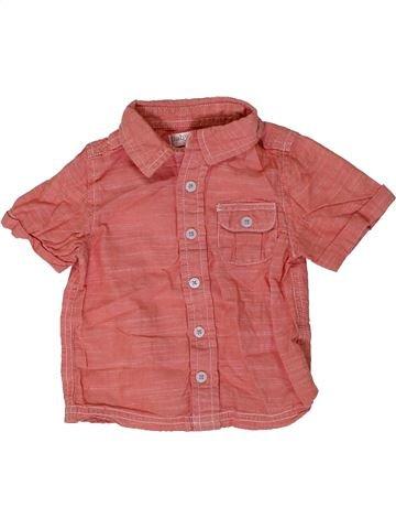 Camisa de manga corta niño M&CO rosa 12 meses verano #1309172_1
