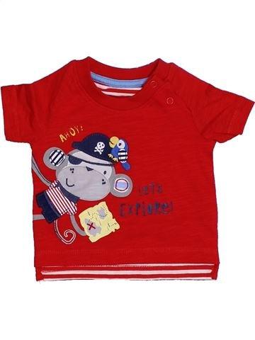 Camiseta de manga corta niño GEORGE rojo 1 mes verano #1309315_1