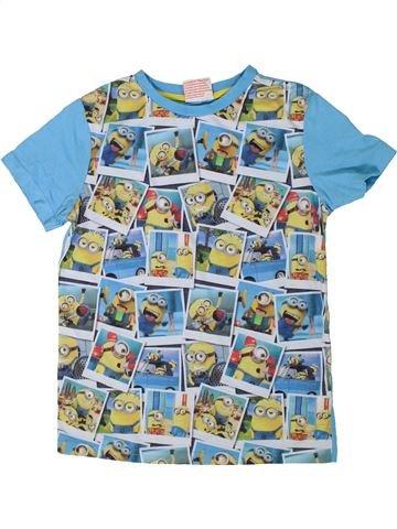 T-shirt manches courtes garçon LES MINIONS bleu 9 ans été #1309517_1