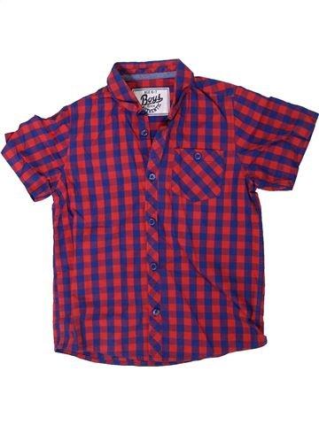 Camisa de manga corta niño BOYS violeta 7 años verano #1309605_1