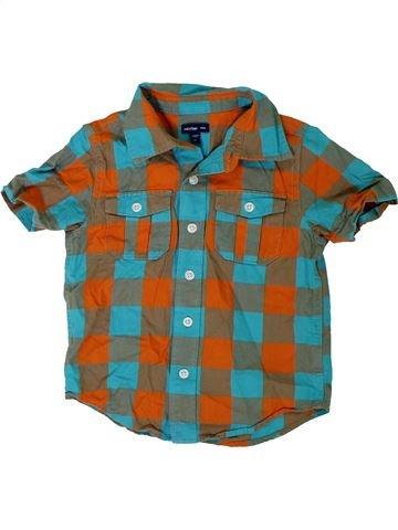 Camisa de manga corta niño GAP marrón 3 años verano #1309721_1