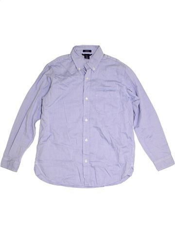 Camisa de manga larga niño GAP gris 13 años invierno #1309805_1