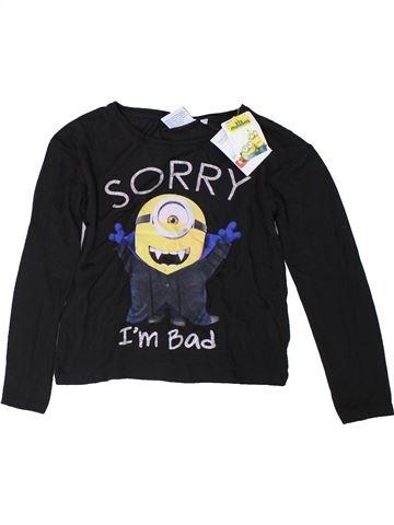 Camiseta de manga larga niña LES MINIONS negro 8 años invierno #1309946_1
