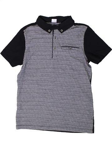 Polo de manga corta niño F&F gris 8 años verano #1310409_1