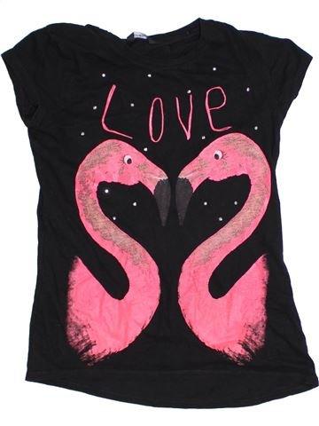 Camiseta de manga corta niña GEORGE rosa 12 años verano #1310458_1