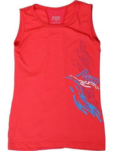 Ropa deportiva niña POWERZONE rojo 10 años verano #1310571_1