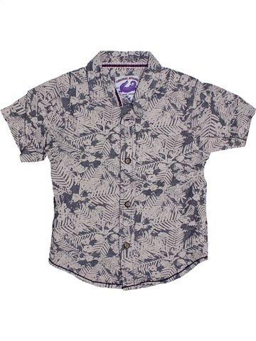 Camisa de manga corta niño TU gris 3 años verano #1310931_1