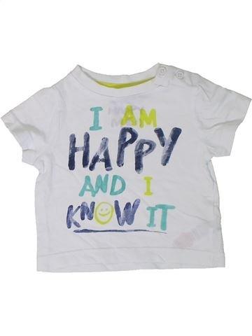 Camiseta de manga corta niño F&F blanco 3 meses verano #1310976_1
