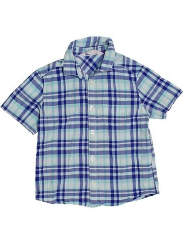 Camisa de manga corta niño H&M azul 3 años verano #1310995_1