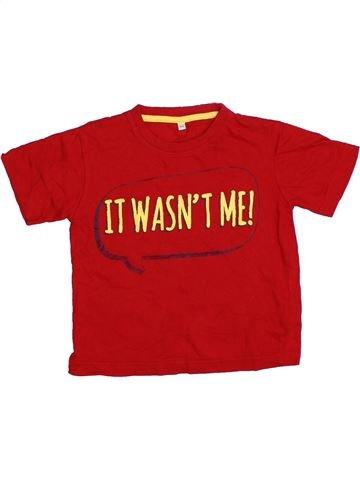 Camiseta de manga corta niño URBAN RASCALS rojo 4 años verano #1311039_1