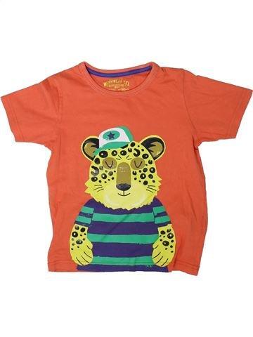 Camiseta de manga corta niño MARKS & SPENCER naranja 4 años verano #1311160_1