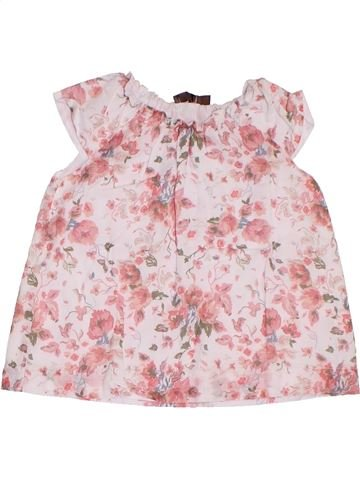 Blusa de manga corta niña BOUT'CHOU rosa 2 años verano #1311171_1