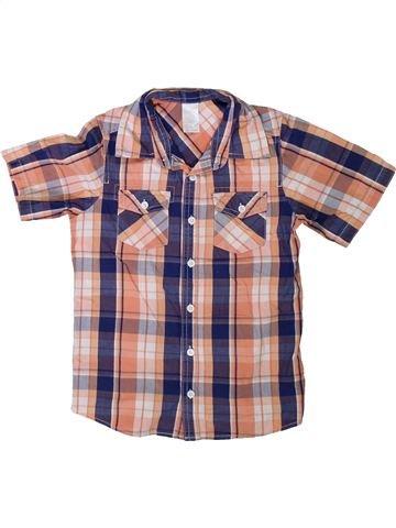 Camisa de manga corta niño SANS MARQUE rosa 7 años verano #1311172_1