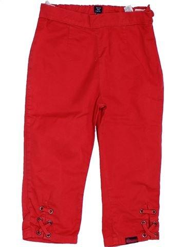 Pantalón corto niña TERRE DE MARINS rojo 6 años verano #1311197_1