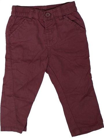 Pantalón niño MATALAN violeta 9 meses verano #1311214_1