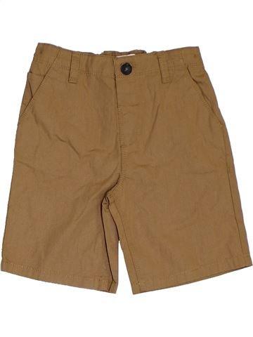 Short-Bermudas niño BLUEZOO marrón 5 años verano #1311246_1