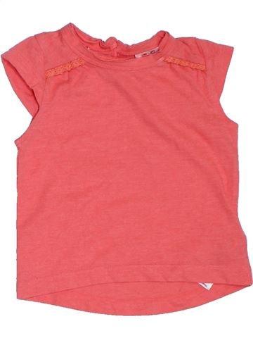 Camiseta de manga corta niña F&F rosa 6 meses verano #1311266_1