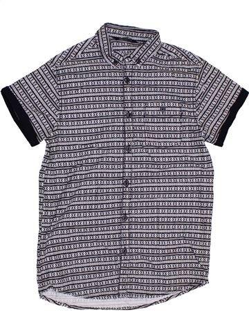 Camisa de manga corta niño GEORGE violeta 10 años verano #1311291_1