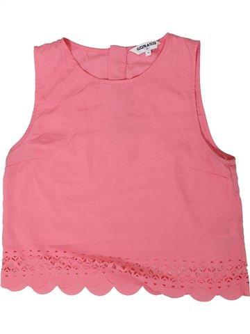 Blusa de manga corta niña NEW LOOK rosa 14 años verano #1311325_1