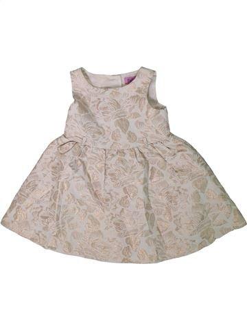 Vestido niña F&F beige 3 años verano #1311327_1