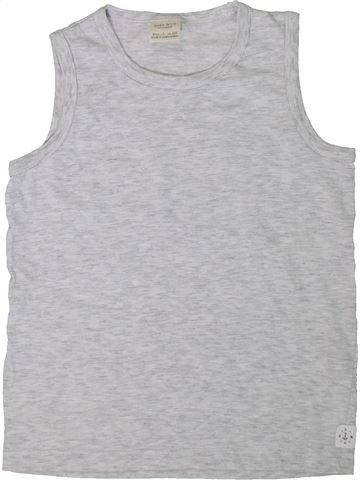 Top - Camiseta de tirantes niño ZARA gris 7 años verano #1311372_1