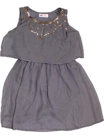 Vestido niña H&M violeta 10 años verano #1311400_1