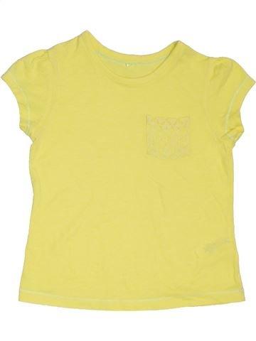 Camiseta de manga corta niña GEORGE amarillo 8 años verano #1311403_1