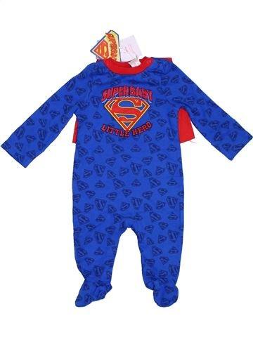 Pijama de 1 pieza niño TU azul 3 meses verano #1311438_1