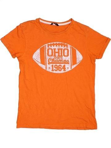 Camiseta de manga corta niño GEORGE naranja 11 años verano #1311504_1