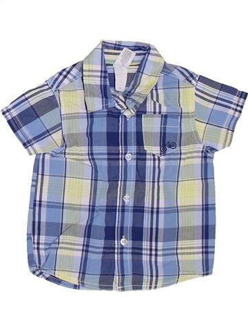 Camisa de manga corta niño C&A azul 12 meses verano #1311509_1