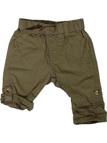 Pantalón niño GEORGE marrón 3 meses verano #1311548_1