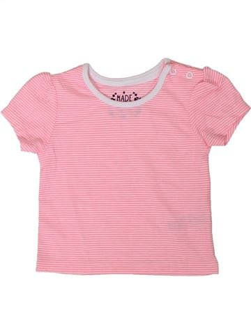 Camiseta de manga corta niña PRIMARK rosa 9 meses verano #1311556_1