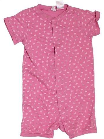 Combinación corta niña H&M rosa 18 meses verano #1311563_1