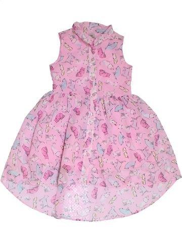 Vestido niña TU rosa 5 años verano #1311673_1