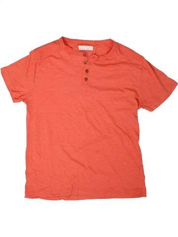 Camiseta de manga corta niño ZARA naranja 12 años verano #1311682_1