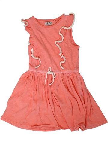 Vestido niña NEXT rosa 7 años verano #1311723_1