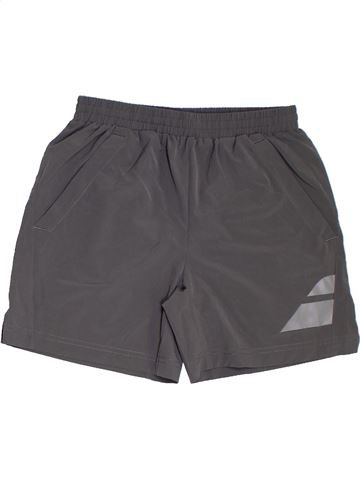 Pantalon corto deportivos niño BADOLAT gris 8 años verano #1311738_1