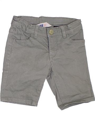 Short-Bermudas niña H&M gris 4 años verano #1311751_1