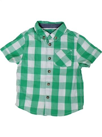 Camisa de manga corta niño F&F verde 3 años verano #1311754_1