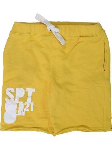 Short-Bermudas niño MARKS & SPENCER amarillo 7 años verano #1311772_1