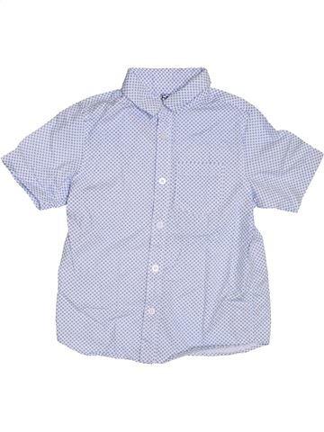 Camisa de manga corta niño F&F gris 7 años verano #1311797_1