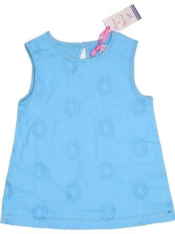 Camiseta sin mangas niña JOHN LEWIS azul 8 años verano #1311835_1