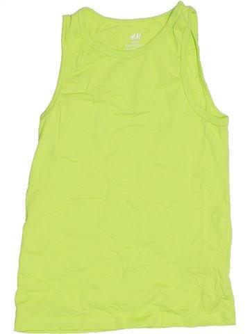 Top - Camiseta de tirantes niño H&M verde 6 años verano #1311847_1