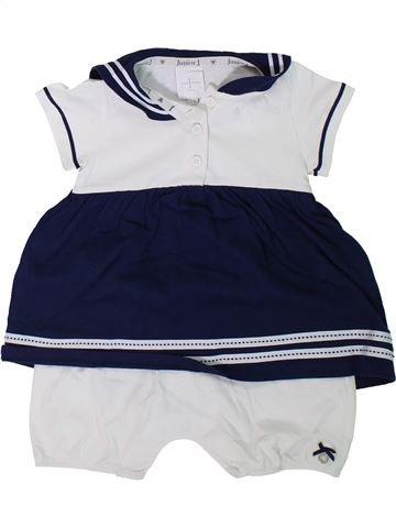 Combinación corta niña JASPER CONRAN blanco 9 meses verano #1311860_1