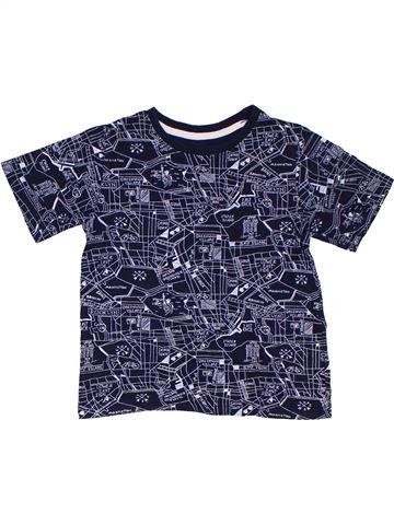 Camiseta de manga corta niño PRIMARK azul 5 años verano #1311891_1